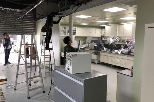 JHL AD Lab Construction